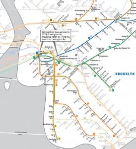 Subway Map Nyc 2012.Mta S Hurricane Sandy Subway Recovery Map Brooklyn Bugle