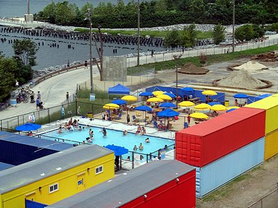 Brooklyn Bridge Park S Pop Up Pool Opens Friday 6 27 Brooklyn Bugle
